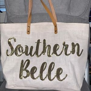 Mud Pie Southern Belle Tote